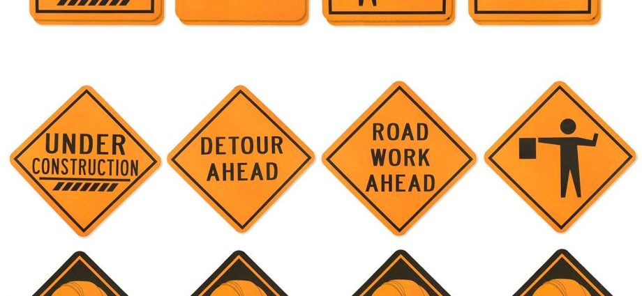 Everything you need to know about construction signs